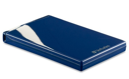 Verbatim Acclaim USB Portable Hard Drive blue
