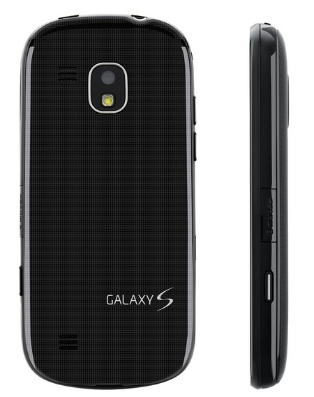 Verizon Samsung Continuum Galaxy S Smartphone side back