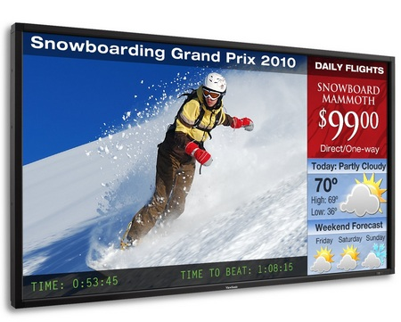 ViewSonic CD5233 Slim Bezel Commercial Display