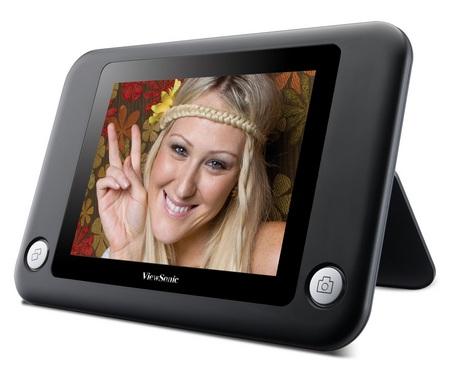 ViewSonic DPF8-CAM Digital Photo Copier Digitizes your Printed Photos
