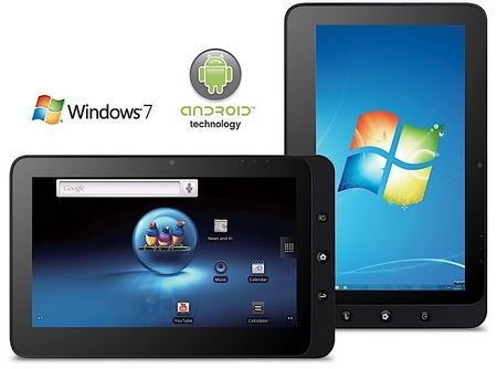 ViewSonic ViewPad 10 Android Windows 7 dual-boot Tablet PC 1