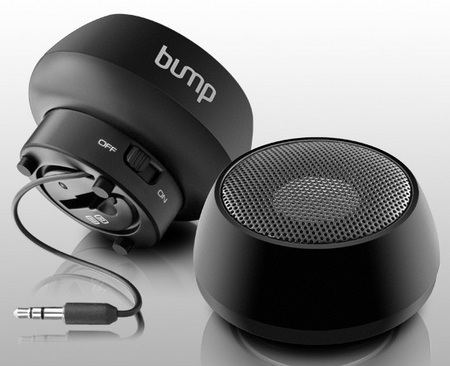 Aluratek Bump APS01F Mini Speaker.