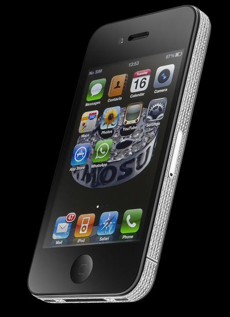 Amosu iPhone 4 Diamond Spider 1