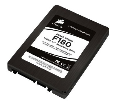 Corsair Force F90 and F180 Solid State Drives