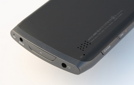 Cowon D3 plenue Android PMP with AMOLED Display connectors