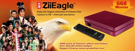 Creative ZiiEagle Movie Box
