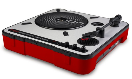 Ion Audio IPTUSB Limited Edition Portable Turntable with USB Audio Conversion