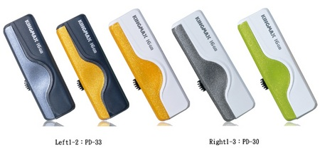 Kingmax PD33 and PD30 Sporty Look USB Flash Drives