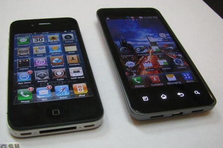 LG Star Tegra 2 Android Phone gets Early Hands-on vs iphone 4 1