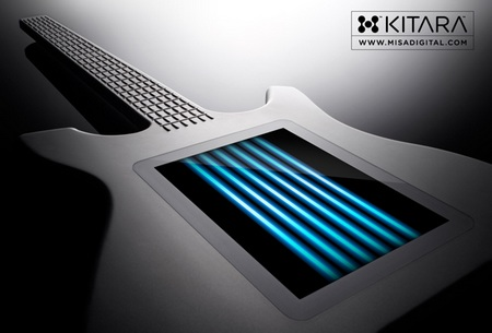 Misa Digital Kitara Stringless Guitar touchscreen