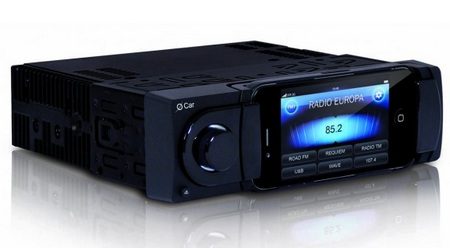 Oxygen Audio O Car in-car iphone docking head unit