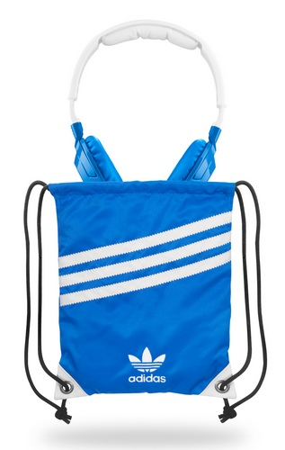 Sennheiser HD220 by adidas Originals headphones carrying pouch