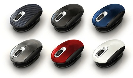 Smartfish Whirl Mini Laser Mouse with Anti-Gravity Comfort Pivot