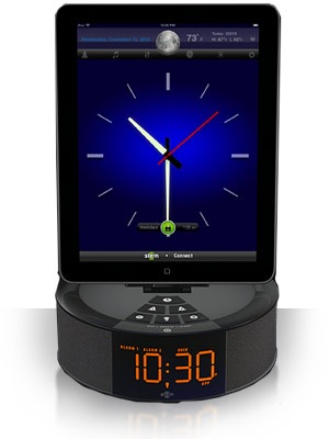 Stem Innovation TimeCommand Alarm Clock Music System for iDevices 1