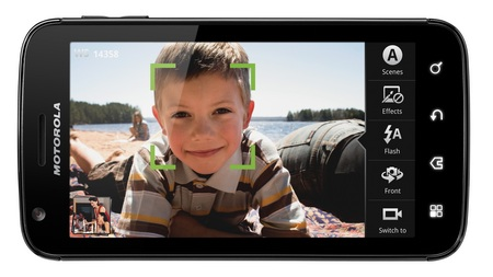 AT&T Motorola ATRIX 4G Dual Core Android Phone camera