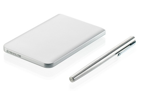 Freecom Mobile Drive Mg World's Thinnest Mobile Hard Drive for Macs