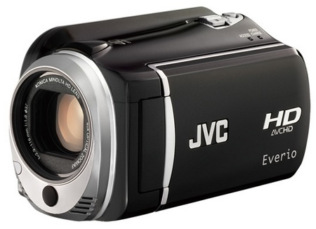 JVC HD Everio GZ-HD520 Full HD Camcorder with 120GB Hard Drive