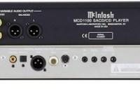 McIntosh MCD1100 SACD CD Player with Sabre32 Reference Audio DAC