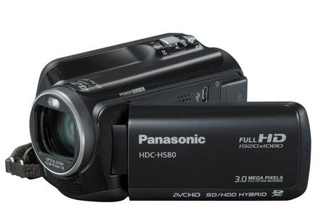 Panasonic HDC-HS80 Full HD Camcorder with 120GB hard drive