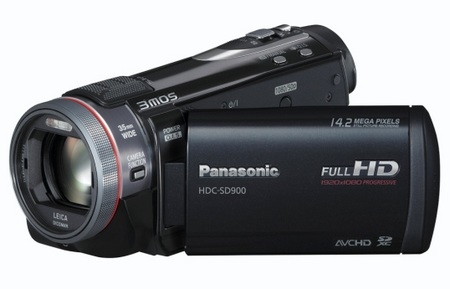 Panasonic HDC-SD900 Full HD 3MOS Camcorder