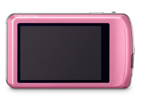 Panasonic LUMIX DMC-FP5 touchscreen camera back