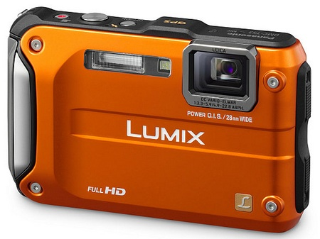 Panasonic LUMIX DMC-TS3 Rugged Digital Camera orange
