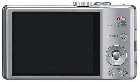Panasonic LUMIX DMC-ZS10 and DMC-ZS8 Digital Camera with 16x Optical Zoom BACK