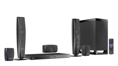 Panasonic SC-BTT370 Full HD 3D Blu-ray Home Theater System