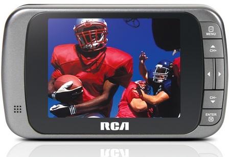 RCA DMT335R Hybrid Portable TV