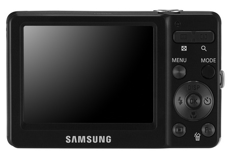 Samsung ST30 UltraCompact Digital Camera back