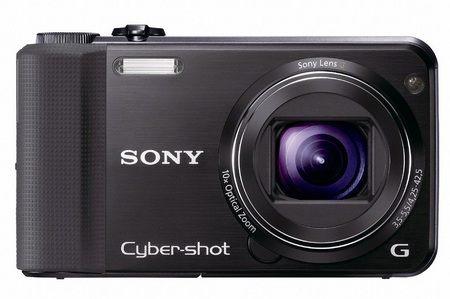 Sony Cyber-shot DSC-HX7V CompactCamera with 10x Optical Zoom black