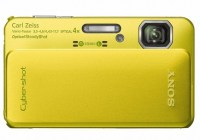 Sony Cyber-shot DSC-TX10 Rugged Digital Camera with 3D Photo Capture yellow