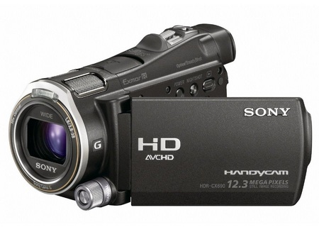 Sony Handycam HDR-CX700V 96GB Flash Memory Full HD Camcorder 2
