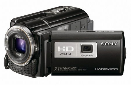 Sony Handycam HDR-PJ50V Full HD Camcorder with built-in Projector