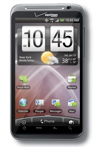 Verizon HTC ThunderBolt 4G LTE Android Smartphone
