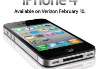 Verizon iPhone 4 Announced