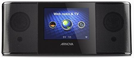 Archos ARNOVA Web Radio & TV front