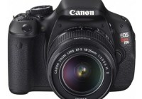 Canon EOS 600D Rebel T3i DSLR Camera front