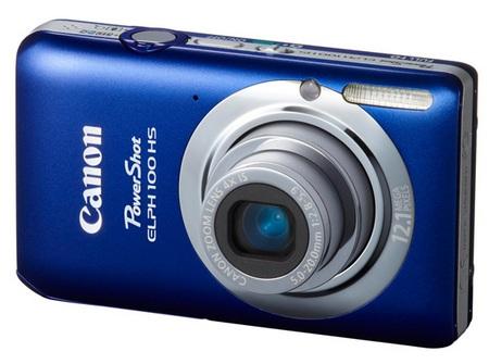 Canon PowerShot ELPH 100 HS Digital Camera blue