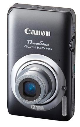 Canon PowerShot ELPH 100 HS Digital Camera gray
