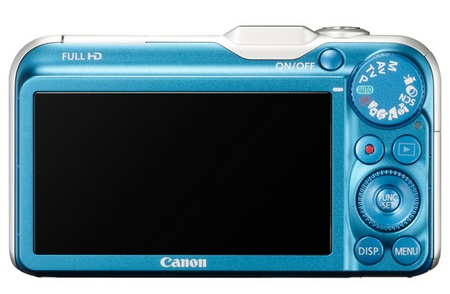 Canon PowerShot SX230 HS GPS-enabled Digital Camera back