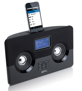 Gear4 HouseParty AirWave Internet Radio with iPhone iPod dock