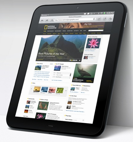 HP TouchPad webOS Tablet