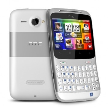 HTC ChaCha Android Social Phone Facebook button 2