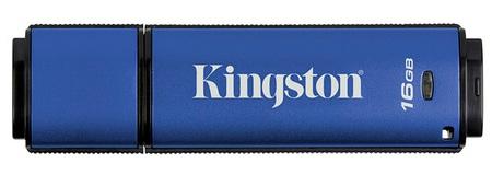 Kingston DataTraveler Vault - Privacy Managed Enterprise-grade Secure USB Flash Drive