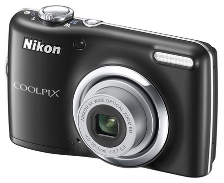 Nikon CoolPix L23 Digital Camera black