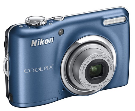 Nikon CoolPix L23 Digital Camera blue