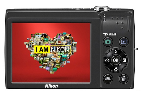 Nikon CoolPix S2500 digital camera back