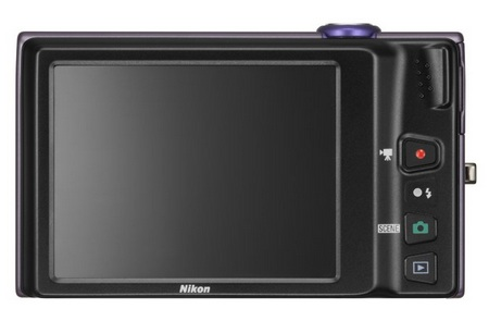 Nikon CoolPix S6100 with 7x Optical Zoom back