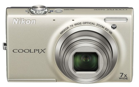 Nikon CoolPix S6100 with 7x Optical Zoom silver